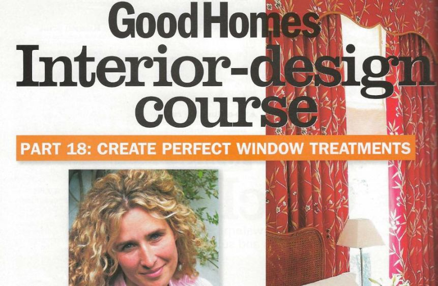BBC Good Homes - Interior Design Course #18 - Window Treatments