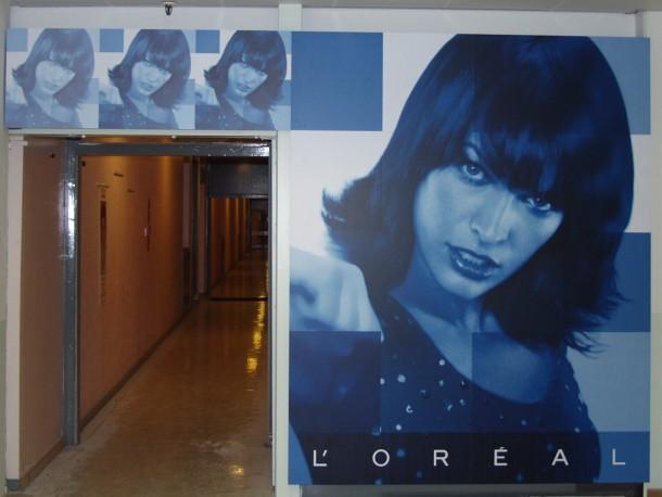 L'Oreal | Bespoke Door | Milla Jovovich