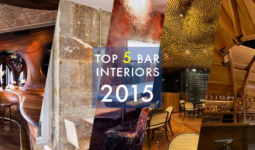 Top 5 Bar Interiors of 2015